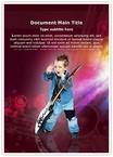 Child Rock artist
