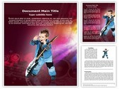 Child Rock artist Template