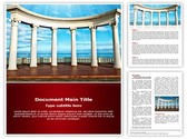 Ancient Greek columns Template
