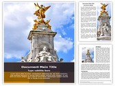 Victoria Monument Editable Word Template