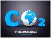Carbon Dioxide Editable PowerPoint Template