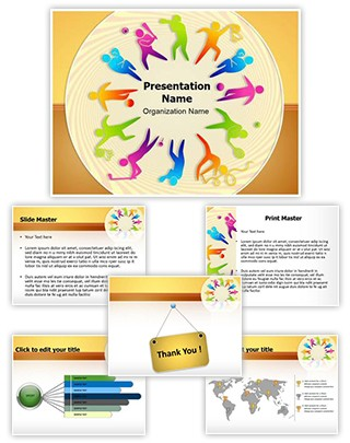 Competitive Sports Equipment  Editable PowerPoint Template