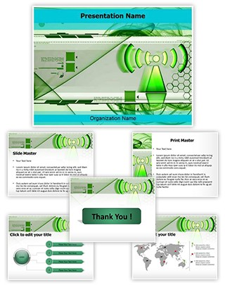 Non Ionising Radiation Editable PowerPoint Template