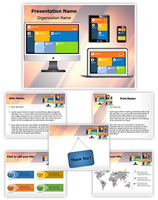 Responsive Web Design Editable PowerPoint Template