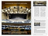 Congress Palace Editable Word Template