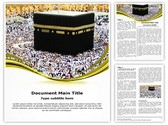 Makkah Editable Word Template