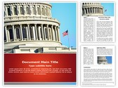 US Capitol Building Template