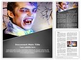 vampire Editable Word Template