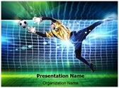 Soccer Goalkeeper Template