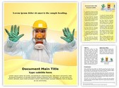 Bio-hazard Suit Template