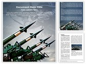 Antiaircraft rockets Template