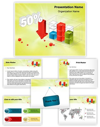Statistics Editable PowerPoint Template