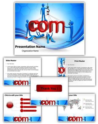 Web Development Editable PowerPoint Template