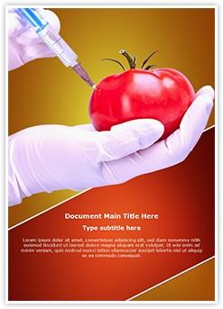 Food Generically transformed Editable Word Template