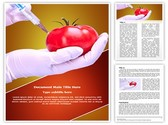 Food Generically transformed Editable Word Template