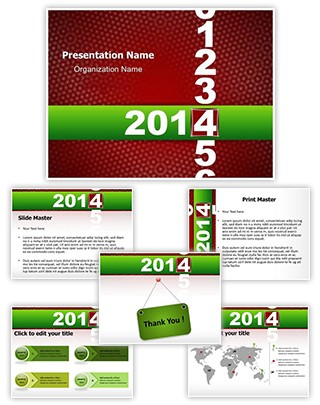 Calender New Year Editable PowerPoint Template