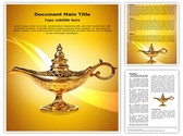 Aladdin Lamp Template