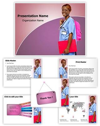 Nursing Education Editable PowerPoint Template