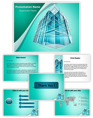 Architectural Engineering Editable PowerPoint Template
