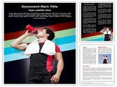 Athlete Dehydration Editable Word Template