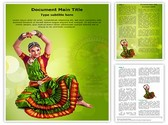 Bharatanatyam Editable PowerPoint Template