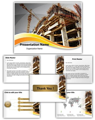 Construction Editable PowerPoint Template