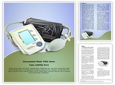 Blood Pressure Monitor Editable Word Template