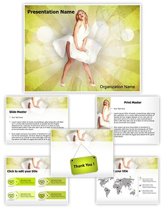 Marilyn Monroe Editable PowerPoint Template