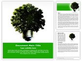 Green Environmental Energy Free Word Template