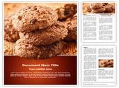 Chocolate Cookies Editable Word Template