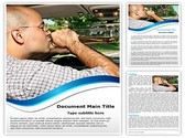 Drunk Driving Editable Word Template