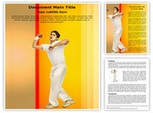 Cricket Bowler Editable Word Template