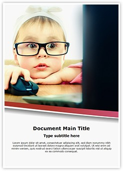 Cute Child Development Editable Word Template