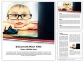 Cute Child Development Template