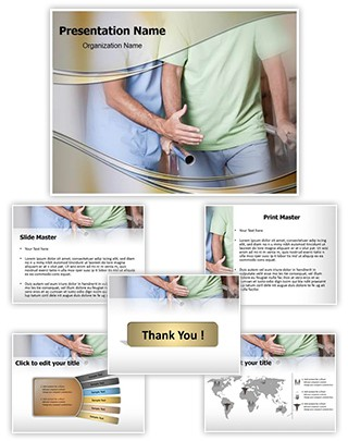 Ambulatory therapy Editable PowerPoint Template