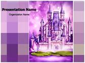 Fairytale castle Editable PowerPoint Template