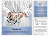 Doctor handcuffs Template