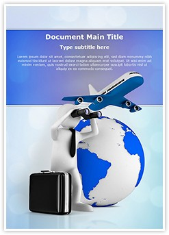 International Business Plan Editable Word Template