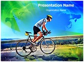 Cycling Editable PowerPoint Template