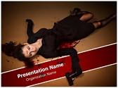 Agent Dead Editable PowerPoint Template