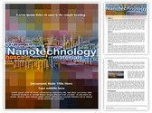 Nanotechnology Words Template