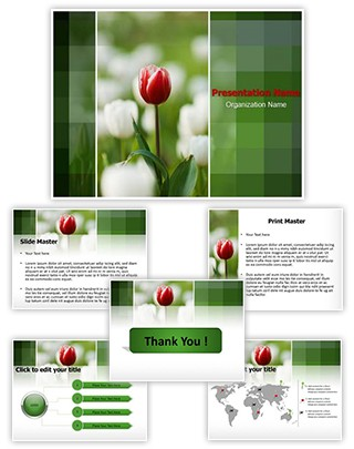 Tulip Editable PowerPoint Template