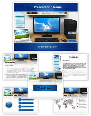 Workplace Editable PowerPoint Template