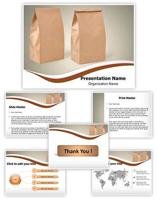 Paper Bag Editable PowerPoint Template