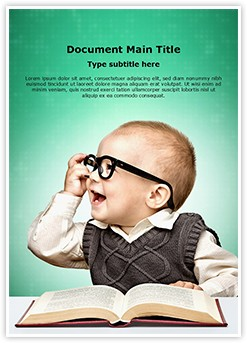 Genius Child Editable Word Template