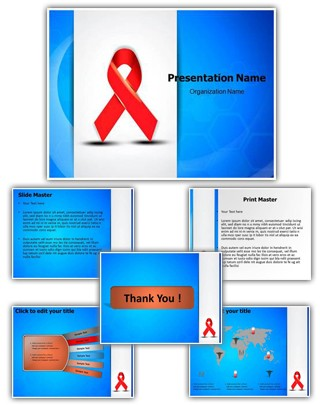 Aids Editable PowerPoint Template