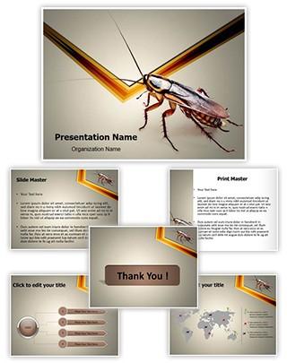 Cockroach Editable PowerPoint Template