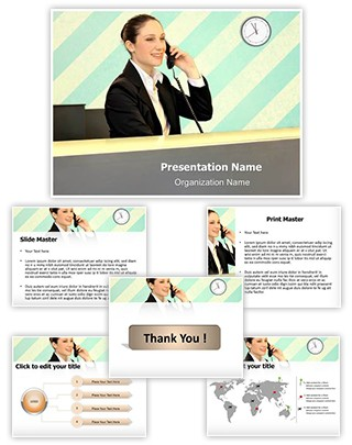 Front Office Editable PowerPoint Template