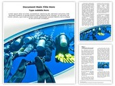 Scuba Divers Group Template