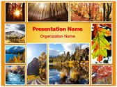 Autumn Season Collage Template